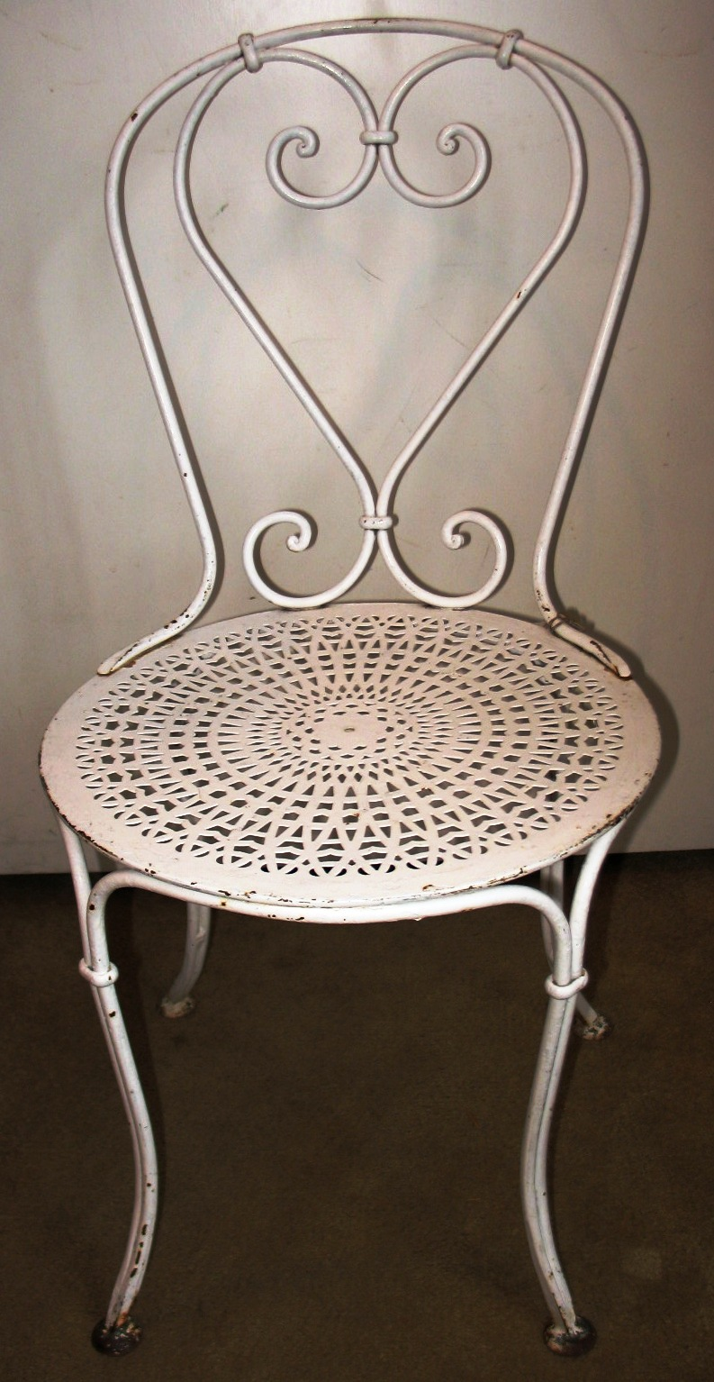 French bistro chairs metal - Garden